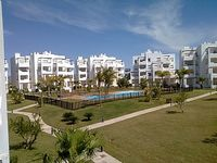 Nicely equipped apartment, close to pool, very secure..