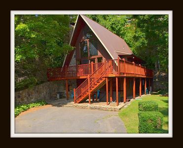 Photo for View Mt. Le Conte & watch the tram go by at Bear Alley!
