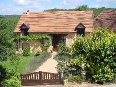 Photo for Stylish Barn Conversion with Pool and Views, 15 km south of Sarlat