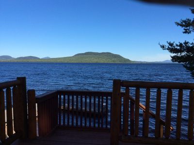 Photo for 30 feet from water's edge with 300 feet of frontage and views of Mount Kineo.