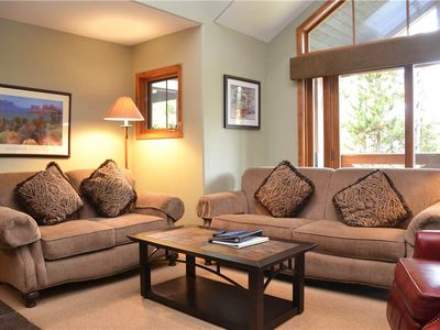 Photo for Los Pinos Townhomes: 3 BR / 3 BA townhome in Breckenridge, Sleeps 6