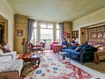 Photo for charming rental and luxury in the heart of Paris overlooking the Champs-Elysées.