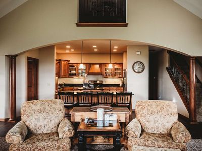 Photo for Luxurious Golf Course Views! King BD/Jet Tub