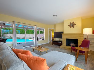 Photo for The Coral Cottage in Historic Movie Colony East, Your Palm Springs Paramour