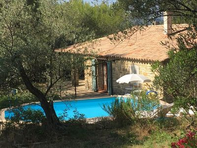 Photo for Provencal farmhouse with swimming pool