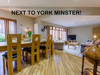 Photo for Can you get any closer to York Minster? Only 1 property like this!
