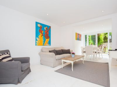 Photo for Intriguing St Luke's Road, beautiful and original flat