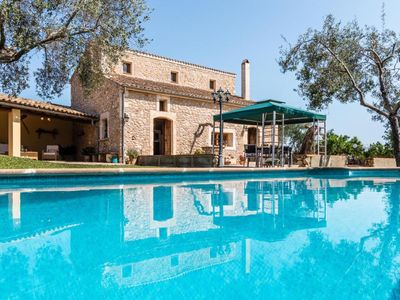 Photo for FINCA CARRAT, in a quiet area, internet, swimming pool, to the beach 15 km
