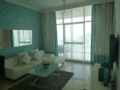 Photo for Twin Bed 1 Bedroom Apartment, Dubai Marina, end of JBR