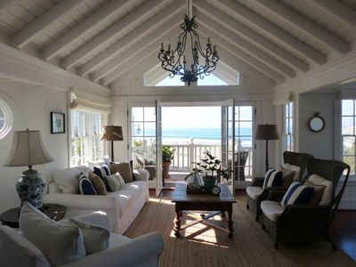 Living Room - Warm and inviting with breathtaking views.