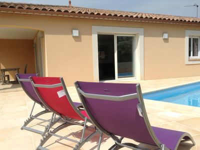 Photo for 4BR Villa Vacation Rental in Neffiès, Occitanie