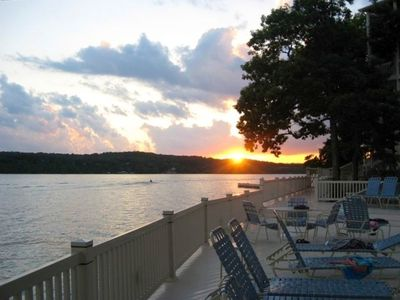 Photo for Lake Ozark - Custom Updates - Main Level 3 BR 3BA Condo - Fantastic Lake View