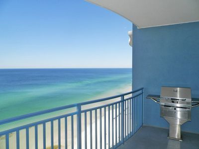 Photo for Ocean Front, 1br 2ba Plus Bunks, 0.5 Miles to Pier Park (includes beach chairs)