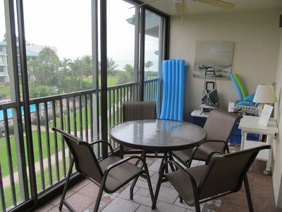 Lanai with New Patio Furniture