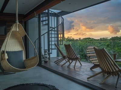 Photo for ☛ Explore Tulum from a Peaceful Jungle Penthouse