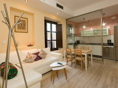 Photo for In the Centre of Seville: Modern Apartment between Guadalquivir and Alameda