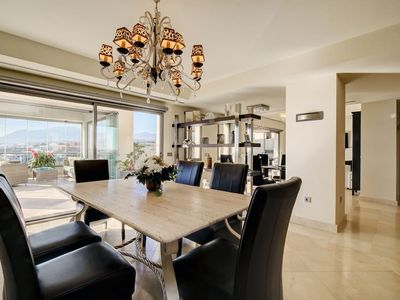 Photo for Penthouse with sea views over Gibraltar in a luxury flat Los Flamingos Golf Marbella