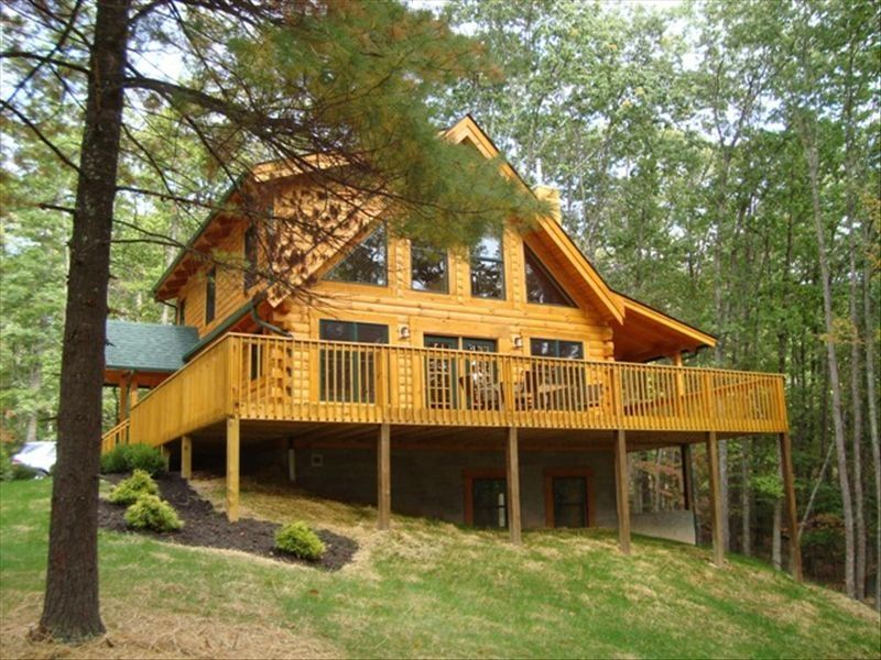 Cottage Car Sales >> The Black Bear, a spectacular loghome. All ... - VRBO