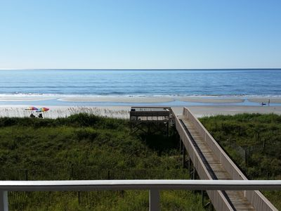 Photo for Prime Oceanfront Corner Condo!  Private Balcony with Spectacular Views!