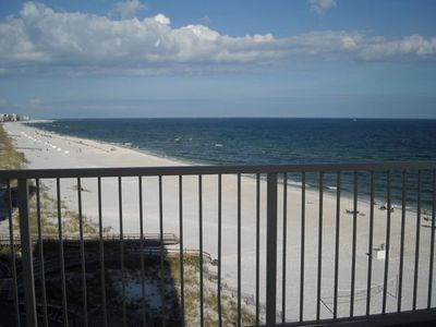 Beautiful Gulf Views from Huge Wraparound  Balcony - East View