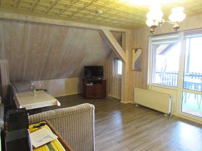 Photo for Apartment with Boat (Zimmermann) - Apartments with Boat + Radlerzimmer (21143)