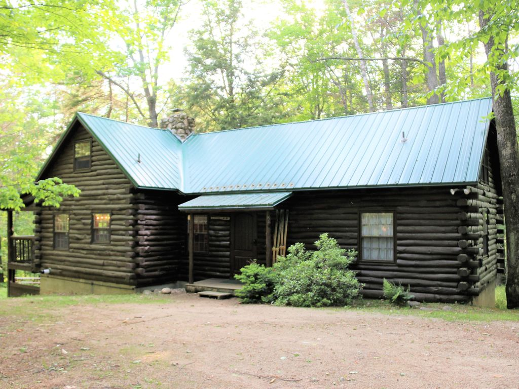 rentals romantic moosehead at maine cabins luxury hills on in cabin lake log nh rustic