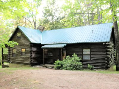 Photo for Cozy Log Cabin in Jackson , New Hampshire