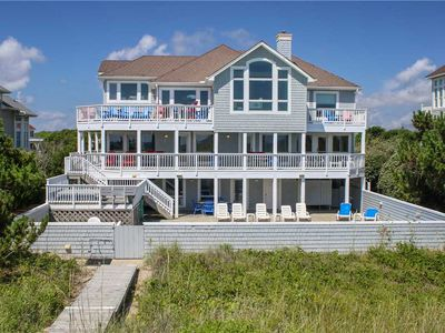 Photo for #PI128: Reduced Rates! OCEANFRONT Corolla w/PRVTPool, HotTub & RecRm w/PoolTbl