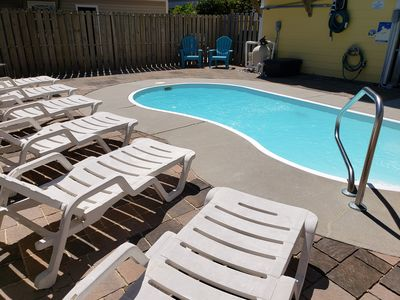Photo for Super Sanitary, Elevator, Golf Cart, Near Beach, Pool, En-suite BR's,+  Extras