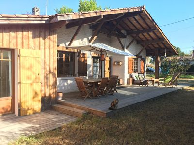 Photo for House in Arès - 50m from the beach and the sailing club - Bassin d'Arcachon