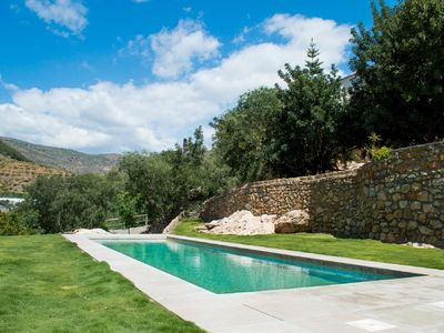 Photo for 18th century farmhouse, spacious, quiet, pool, near sea, mountains & Alpujarras
