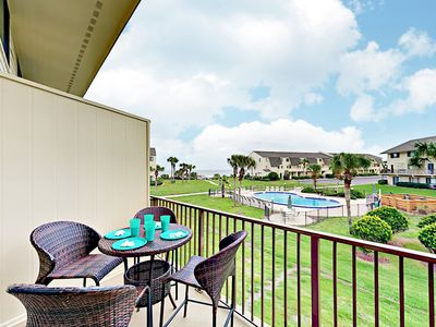 Balcony - Welcome to Saint Augustine! This condo is professionally managed by TurnKey Vacation Rentals.