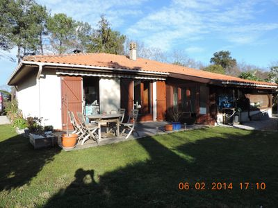 Photo for Pretty 3 bedroom house 10 minutes from the superb Landes beaches