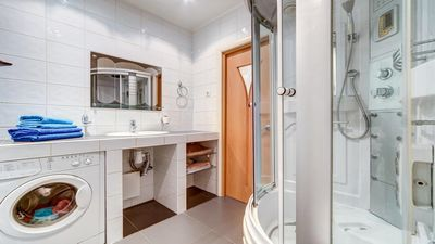 Photo for Spacious two bedroom apartment in the heart of St. Petersburg.