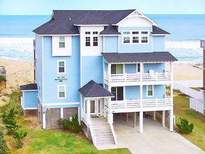 Photo for Enchanting Oceanfront Home-Pool, HotTub, Elevator, Theater+Game Rms, DogFriendly