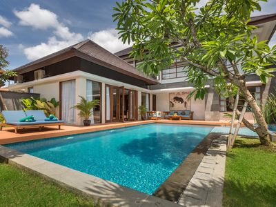 Photo for Clean & Modern 2BR villa with private pool, Seminyak