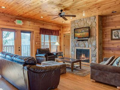 Photo for Mountain View Lodge, 8 BR, Hot Tub, Pool Table, Theater Room, Sleeps 26