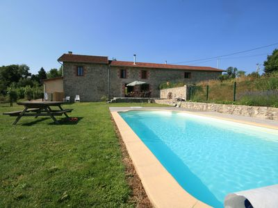 Photo for Restored stable in privat domain (3.5 hect) with pool and 2 lakes
