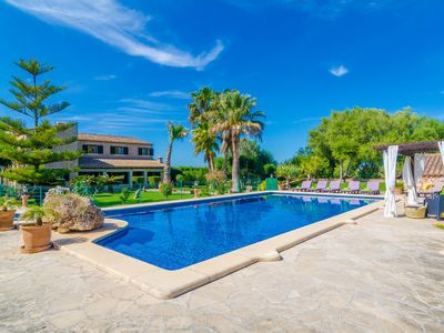 Photo for ES CAMP FRED -  beautiful villa with spectacular private pool and impressive garden.