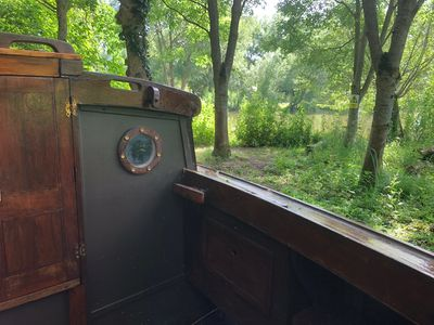 "Photo for Glamping Boat ""The Garsington Maid'"