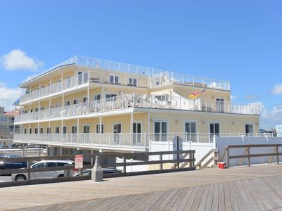 Photo for Oceanfront Seaside Heights Boardwalk Penthouse