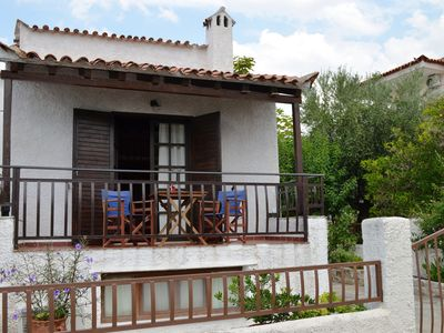 Photo for Peaceful comfortable house in walking distance from all Stoupa beaches- 6 guests