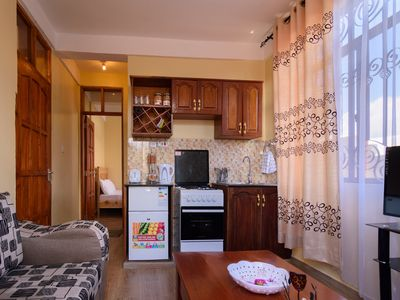 Photo for Apartment 1 bedroom furnished, in a 3 apartments house, 10min from Arusha Center