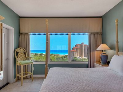 Photo for 10% off Fall Discount!! Stunning Gulf View/2 King Beds/TOPS'L Beach and Racquet Resort/Pool