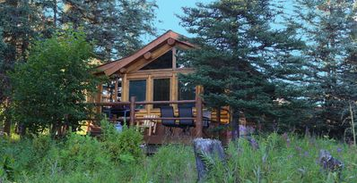 Photo for Uniquely Alaska, Real Log Vacation Homes Located On A Natural 14 Acre Homestead