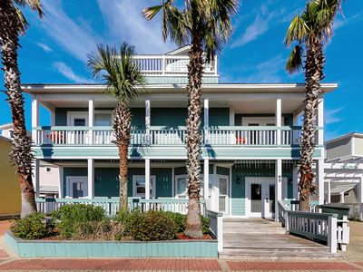 Photo for Gulf-Side Home ~ Steps to Beach and Gulf ~ Scenic 30A, near famous Seaside!!