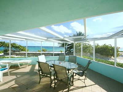 Photo for Ocean Front Condo Cayman Kai by Rum Point - SeaRendipity beachfront & snorkeling