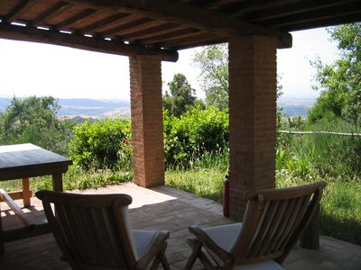 Photo for TUSCANY SCANSANO MAREMMA HOUSE IN STONE BETWEEN SIENA, TALAMONE AND ARGENTARI0