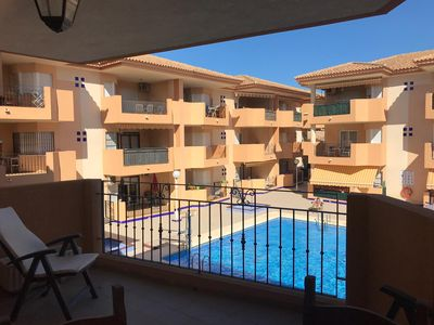 Photo for Apartment in residential area with pool