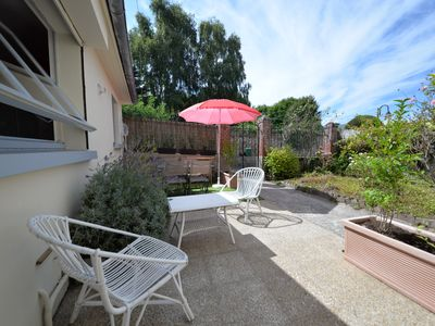 Photo for SMALL HOUSE IN THE HEART of DINARD - Sunny terrace